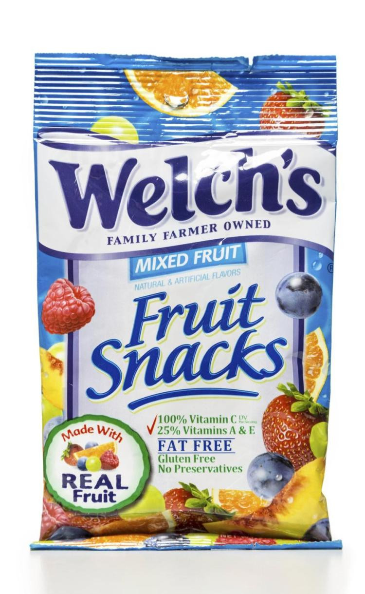 Are Welch'S Fruit Snacks Healthy  Welch's Fruit Snacks are not healthy a lawsuit claims