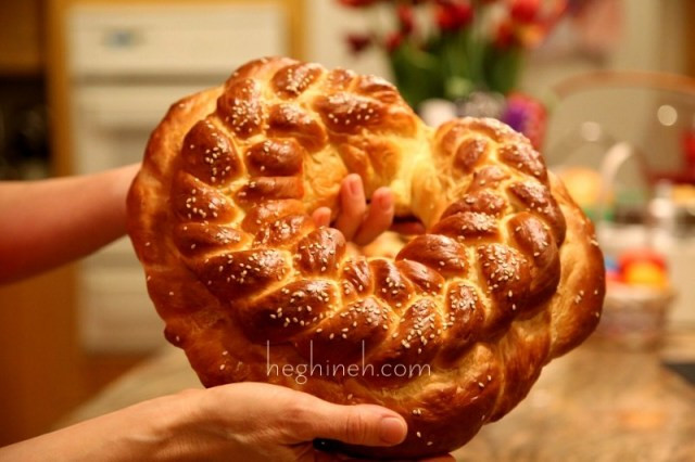 Armenian Easter Bread  Armenian Easter Bread Recipe by Heghineh Heghineh
