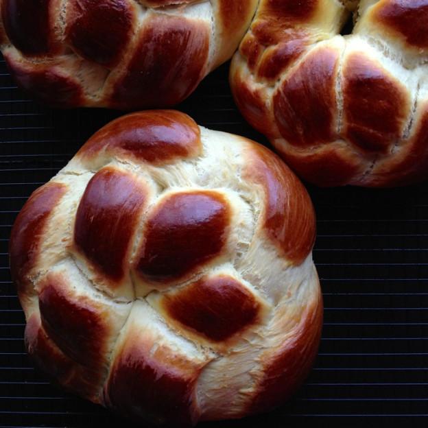 Armenian Easter Bread  Armenian Easter Bread Rounds Choereg taste love and