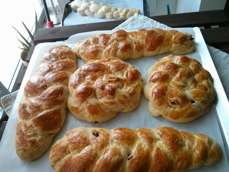 Armenian Easter Bread  Pomegranates365 Choreg Choereg Armenian Easter Bread
