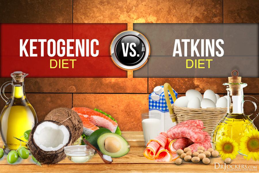 Atkins Vs Keto Diet  Ketogenic Diet vs Atkins Diet Which is Better