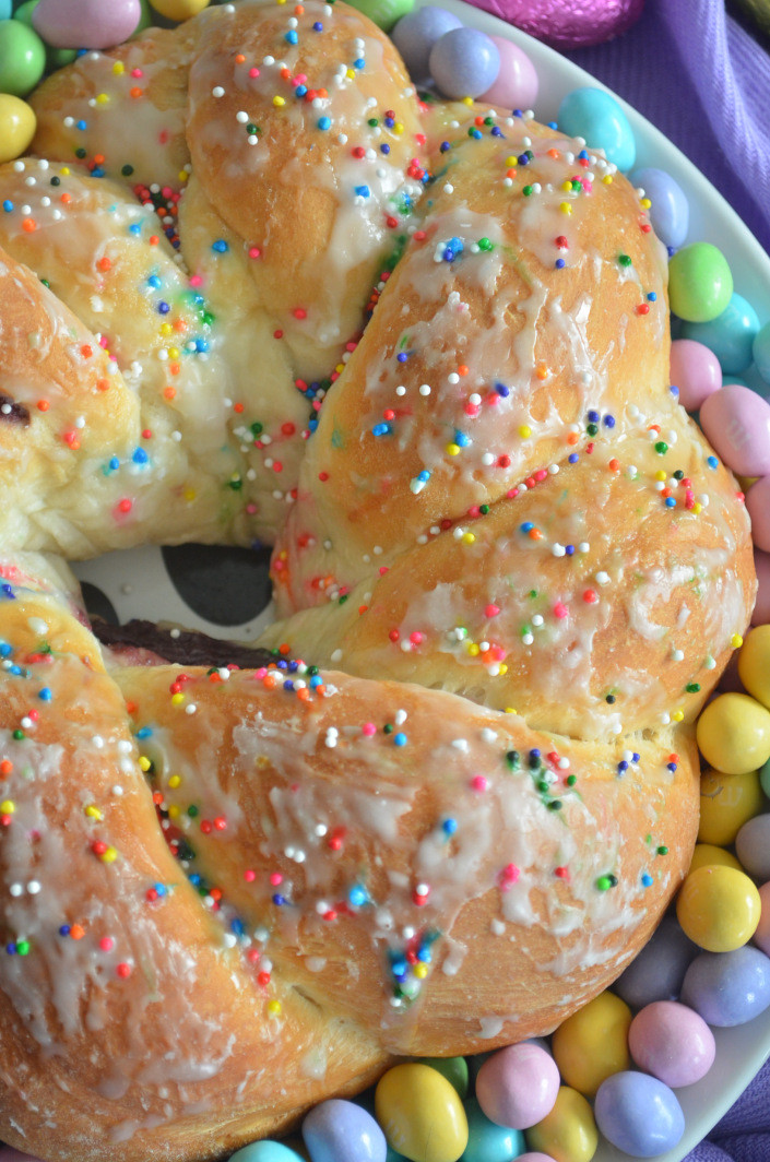 Authentic Italian Easter Bread Recipe  Small Batch Easter M&M Cookies