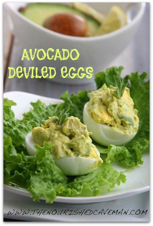 Avocado Keto Diet  Avocado Deviled Eggs Recipe for Ketogenic Diet Week Meal