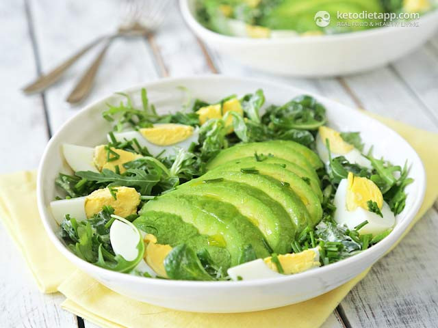 Avocado Keto Diet  Easy Avocado & Egg Salad