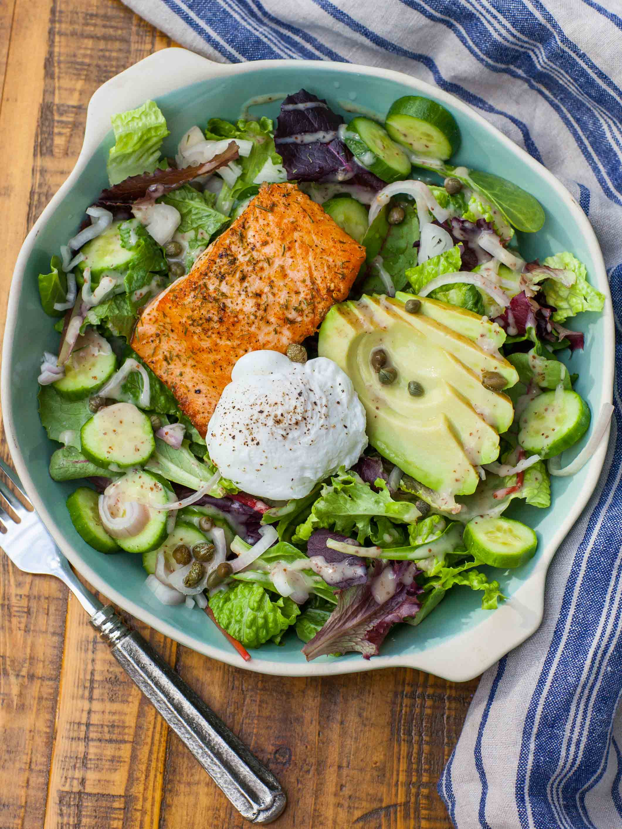 Avocado Keto Diet  Keto Avocado Egg and Salmon Salad Tatyanas Everyday Food