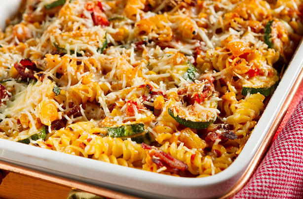 Bake Vegetarian Recipes  Baked Ve able Pasta recipe goodtoknow