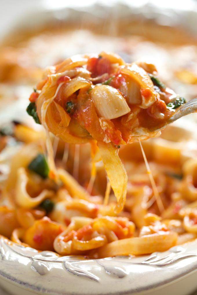 Bake Vegetarian Recipes  vegan pasta bake