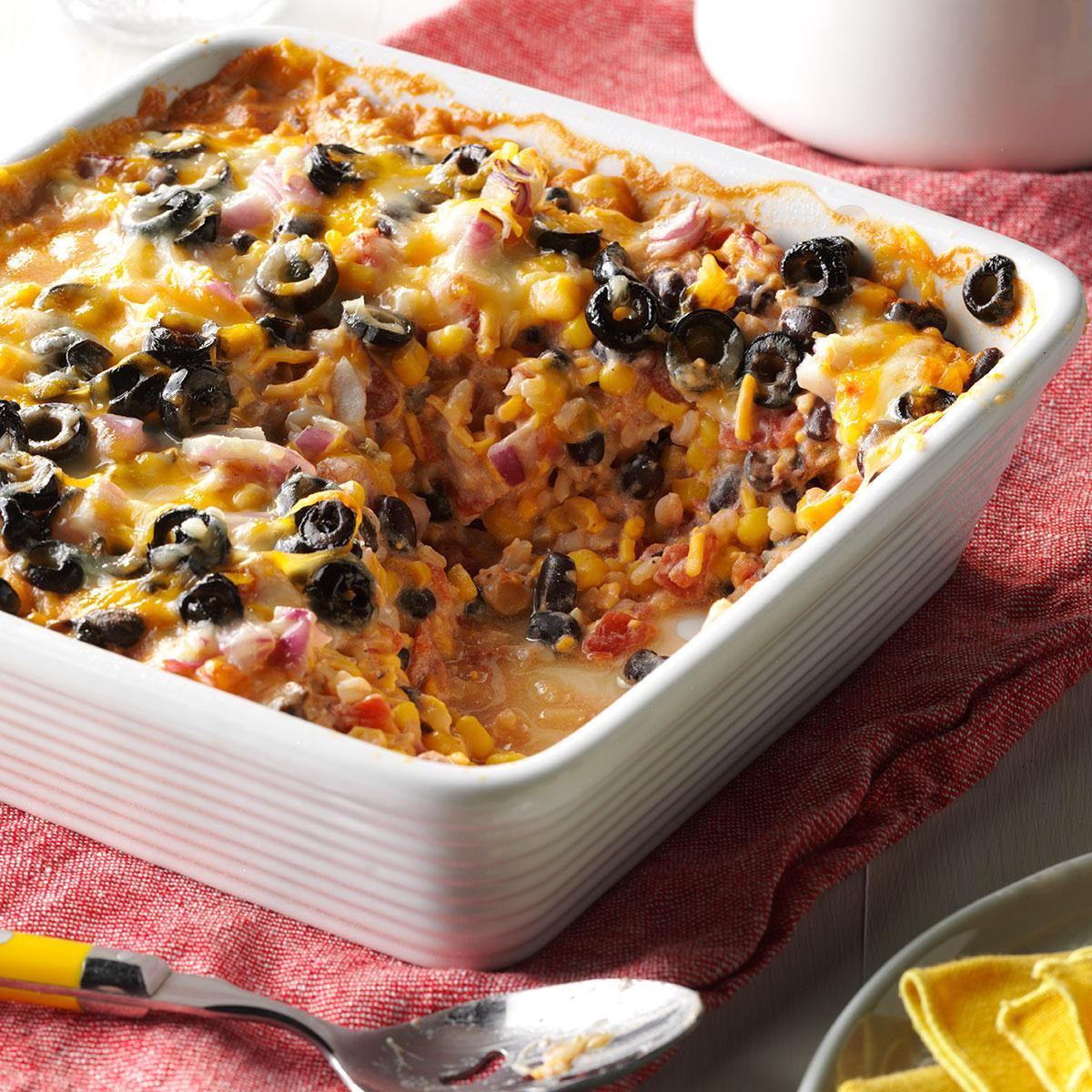 Bake Vegetarian Recipes  Southwest Ve arian Bake Recipe