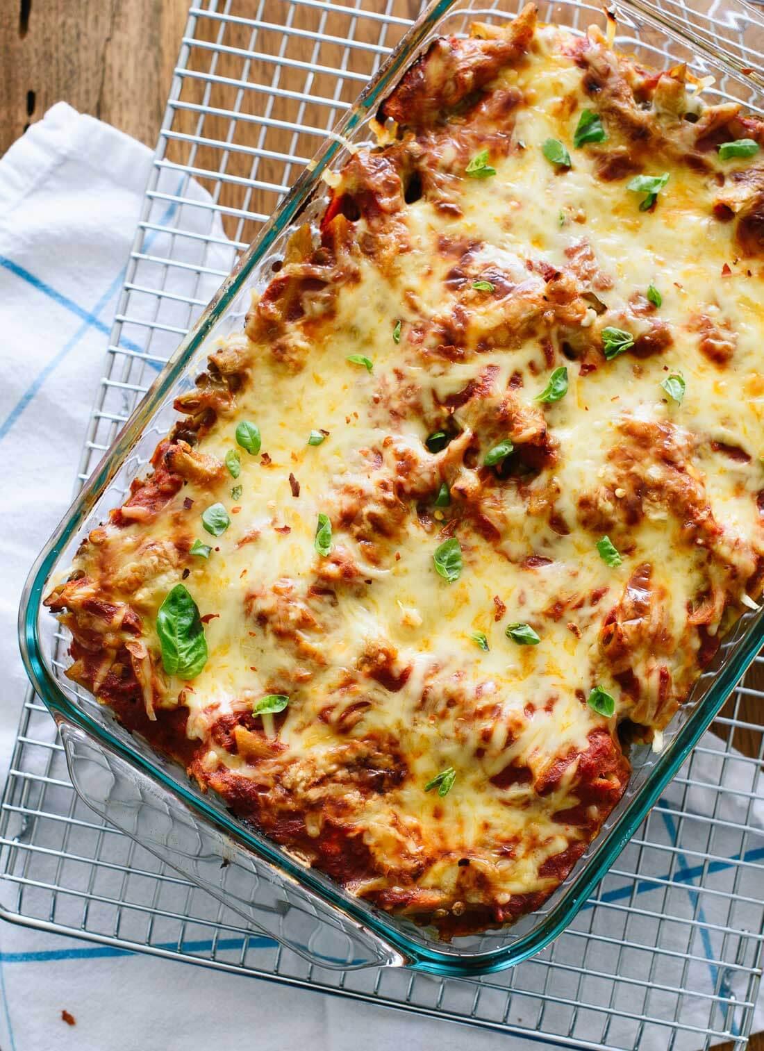 Bake Vegetarian Recipes  Lentil Baked Ziti Recipe Cookie and Kate