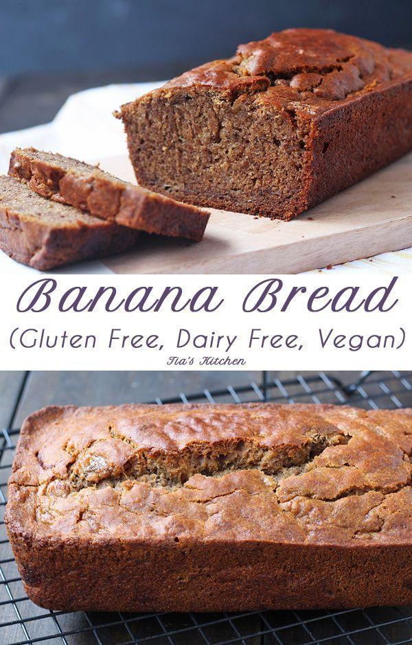 Banana Bread Dairy Free  Gluten Free Banana Bread Dairy Free and Vegan
