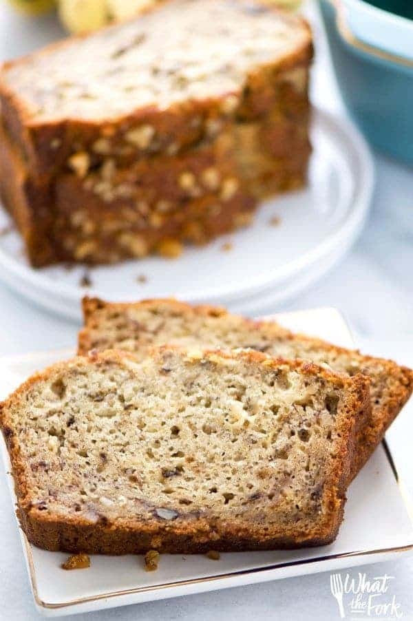 Banana Bread Dairy Free  The Best Gluten Free Banana Bread What the Fork