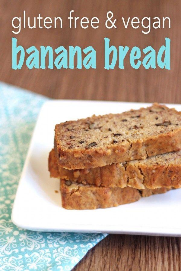 Banana Bread Dairy Free  Gluten Free & Vegan Banana Bread Recipe