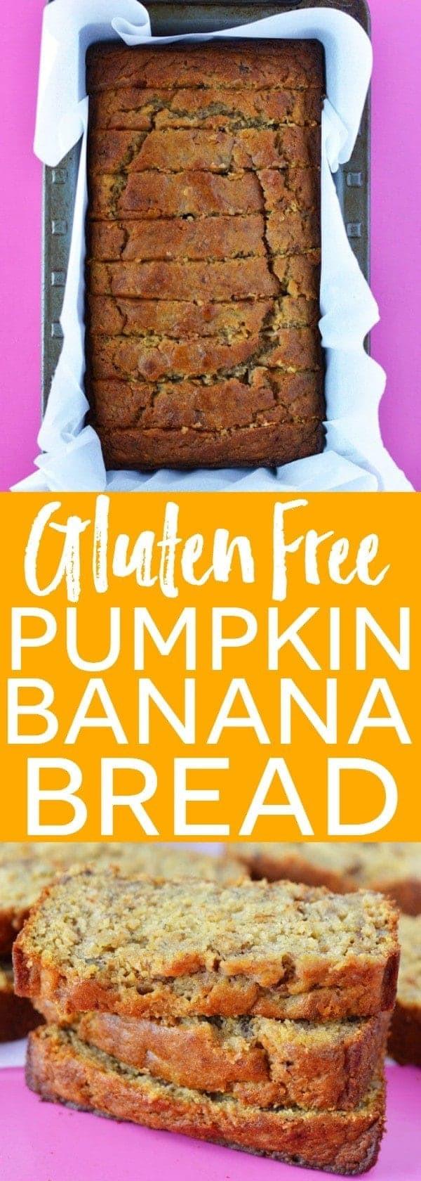 Banana Bread Dairy Free  Gluten Free Pumpkin Banana Bread Recipe from