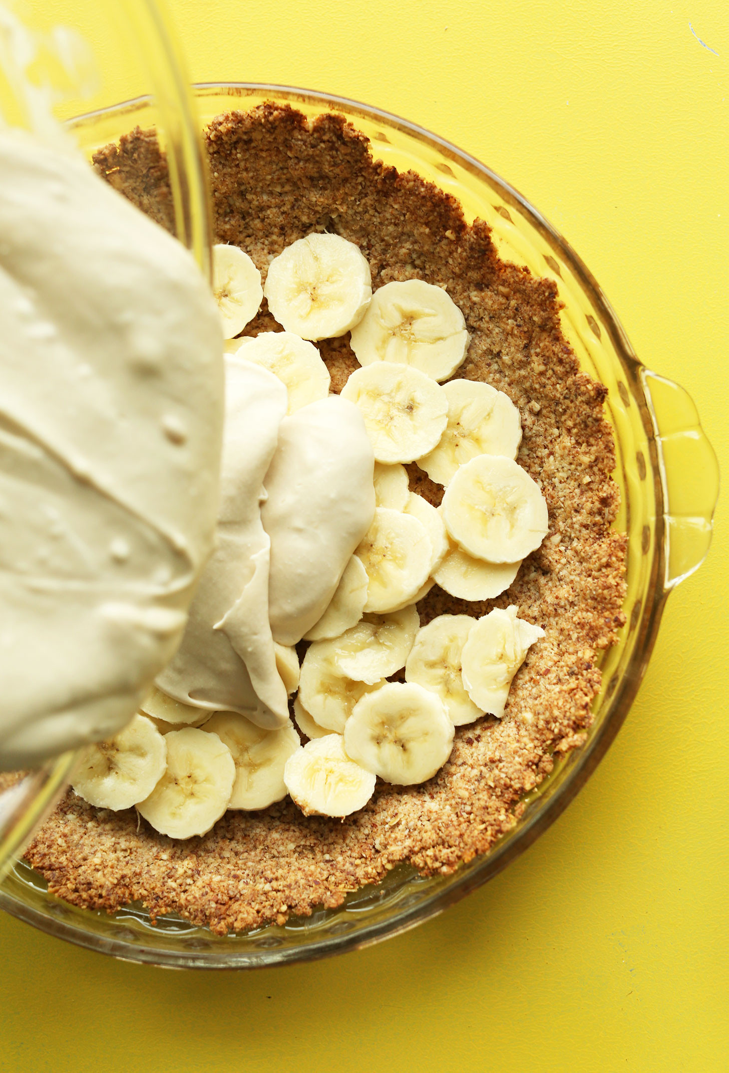 Banana Desserts Vegan  Vegan Banana Cream Pie