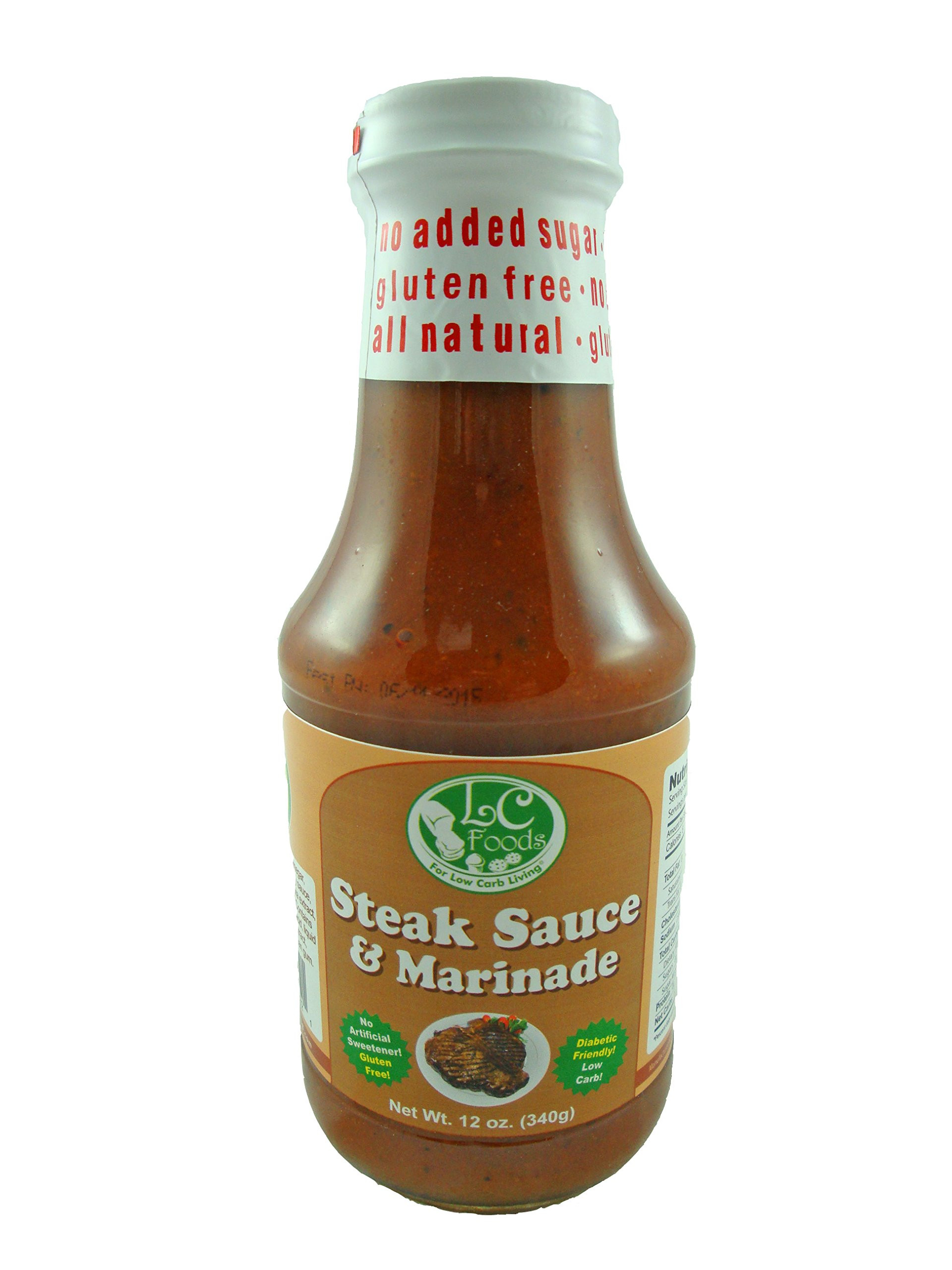 Bbq Sauce For Diabetics  Amazon Low Carb Ketchup LC Foods All Natural