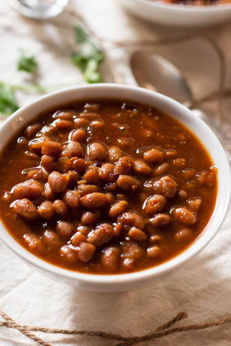 Bean Recipes Vegan  Ve arian Slow Cooker Baked Beans