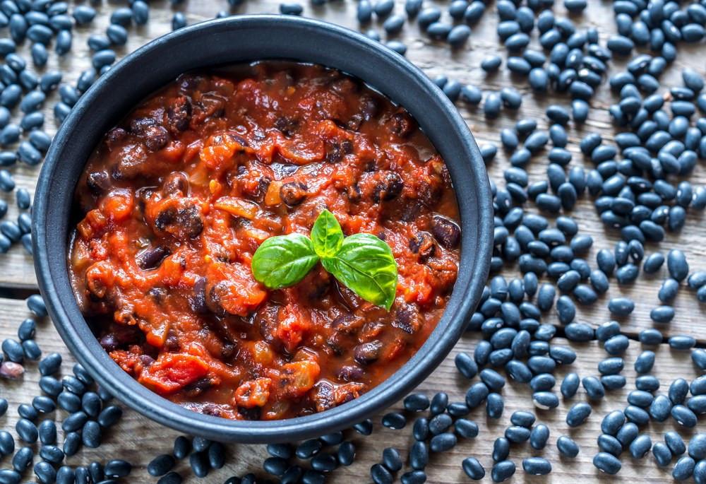 Bean Recipes Vegan  Ve arian Black Bean Chili recipe