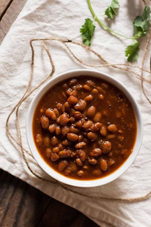Bean Recipes Vegan  Ve arian Slow Cooker Baked Beans