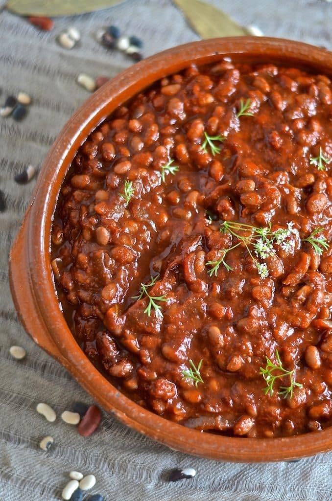 Bean Recipes Vegan  Vegan Baked Beans Gluten Free A Virtual Vegan