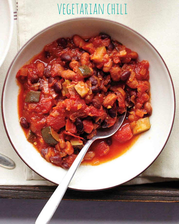 Best Canned Vegetarian Chili  620 best images about Soup Stew & Chili Recipes on