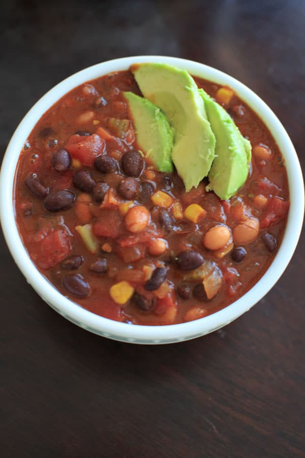 Best Canned Vegetarian Chili  Ve arian Chili gluten free vegan friendly ready in