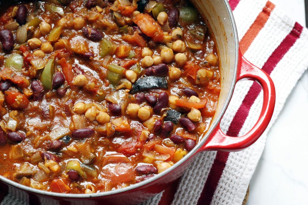 Best Canned Vegetarian Chili  Ve arian Chili – Rockin Arugula