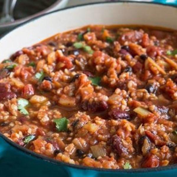 Best Canned Vegetarian Chili  Vegan Chili recipe