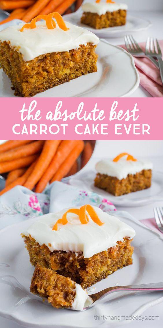 Best Easter Desserts Ever  Mom s Karrot Kake Recipe