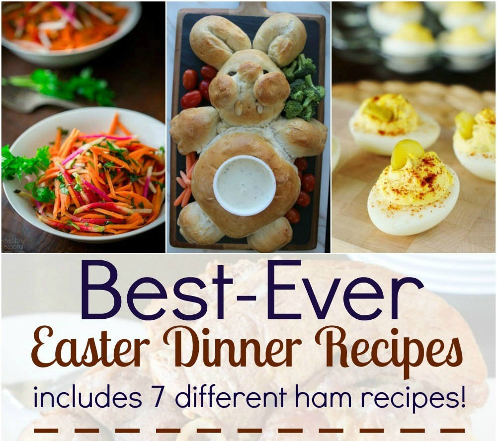 Best Easter Dinner Menu Ideas  Best Ever Easter Dinner Recipes Tales of a Ranting Ginger