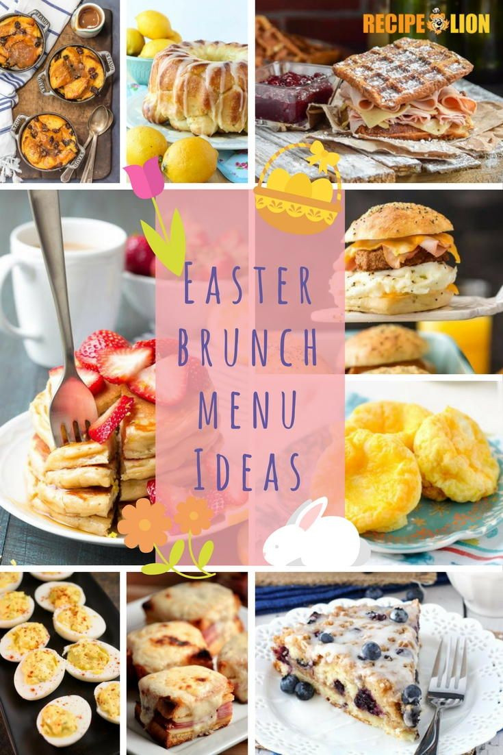 Best Easter Dinner Menu Ideas  25 best ideas about Easter brunch menu on Pinterest