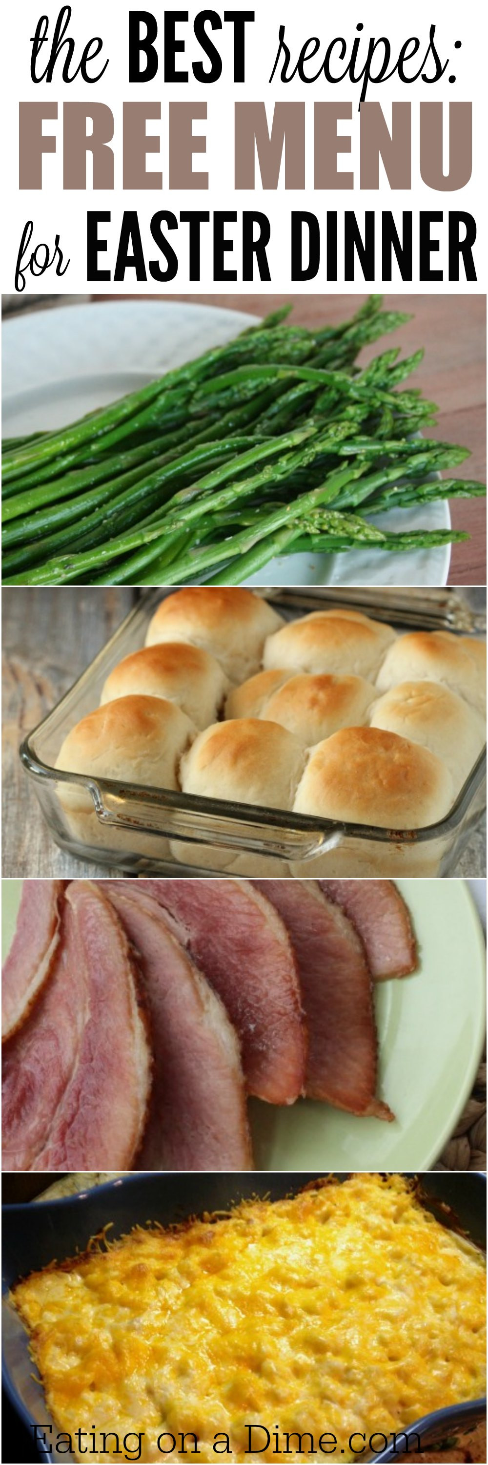 Best Easter Dinner Menu Ideas  Easter Menu Ideas and Recipes The Best Easter Dinner recipes