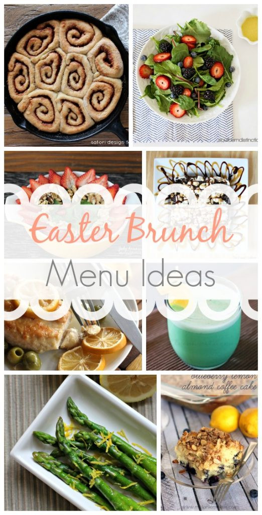 Best Easter Dinner Menu Ideas  Easter Brunch Menu Ideas Link Party Features Taryn