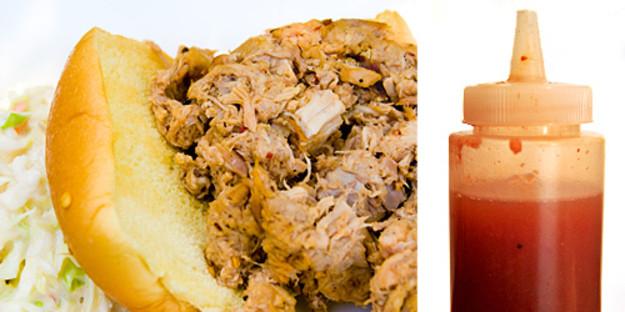 Best Eastern Nc Bbq Sauce Recipe  pulled pork vinegar sauce