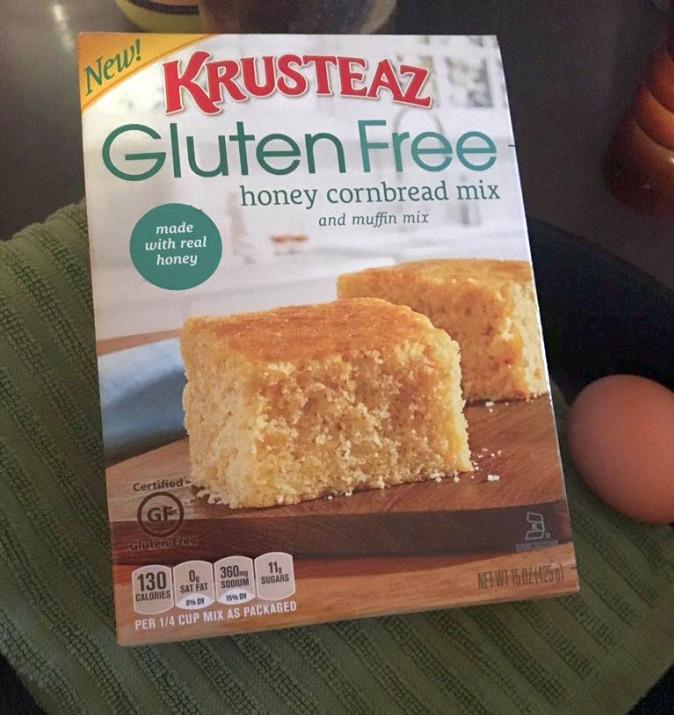 Best Gluten Free Cornbread Mix  Gluten Free Sloppy Joes Cornbread Pizza – Get Cooking