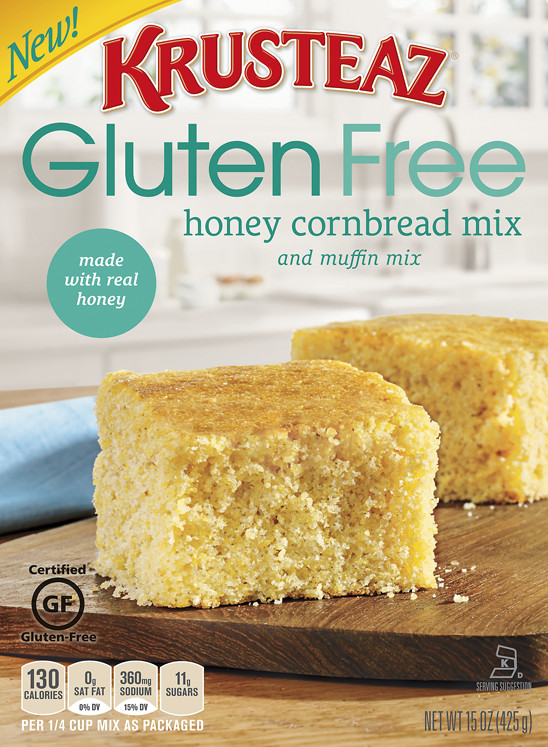 Best Gluten Free Cornbread Mix  Gluten Free Honey Cornbread & Muffin Mixes