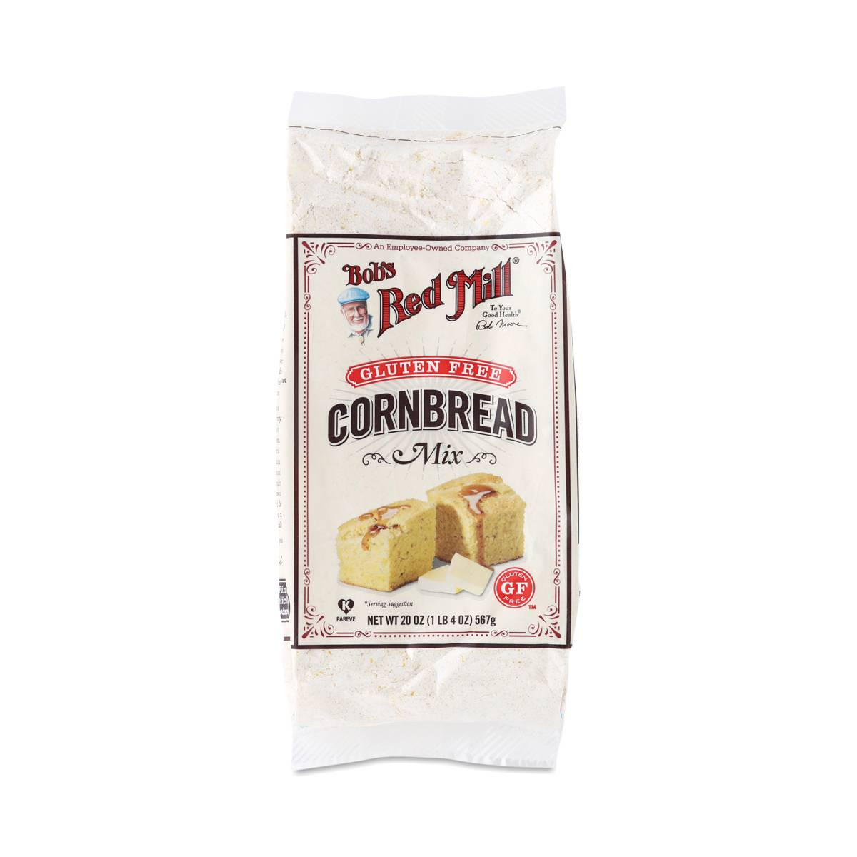 Best Gluten Free Cornbread Mix  Gluten Free Cornbread Mix by Bob s Red Mill Thrive Market