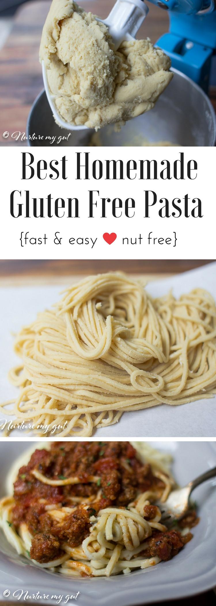 Best Gluten Free Noodles  Homemade Gluten Free Pasta Nut Free
