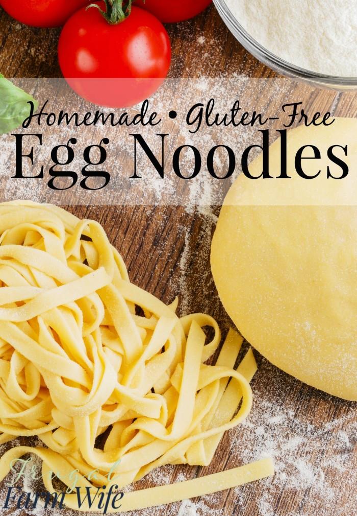Best Gluten Free Noodles  Gluten Free Egg Noodles