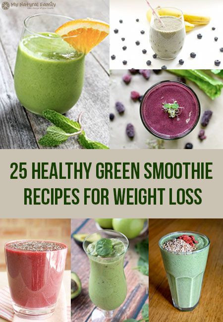 Best Green Smoothie Recipes For Weight Loss  Green smoothie recipes Smoothie recipes and Recipes for
