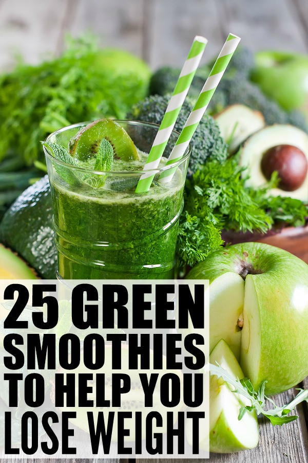 Best Green Smoothie Recipes For Weight Loss  Green Smoothie Recipes for Weight Loss