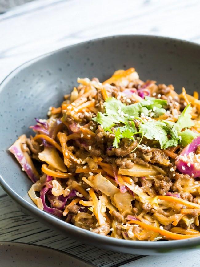 Best Ground Beef For Keto  Creamy Keto Slaw Recipe