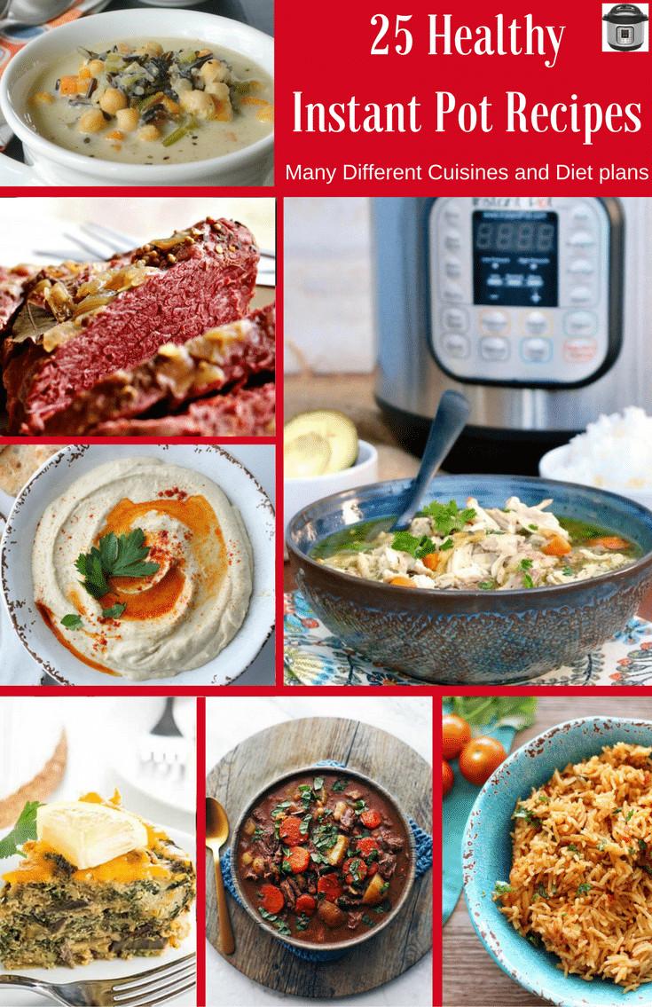 Best Healthy Instant Pot Recipes  25 Healthy Instant Pot Recipes