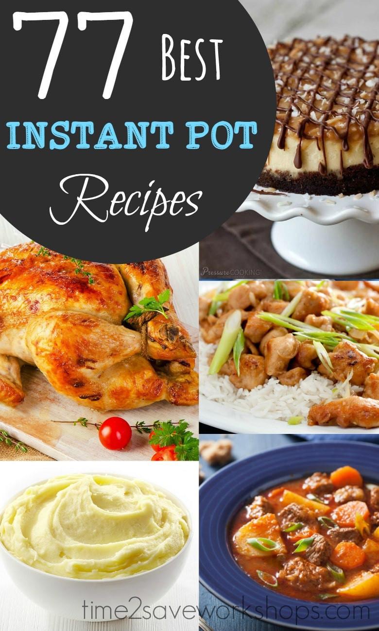 Best Healthy Instant Pot Recipes  BEST Instant Pot Recipes to Try Kasey Trenum