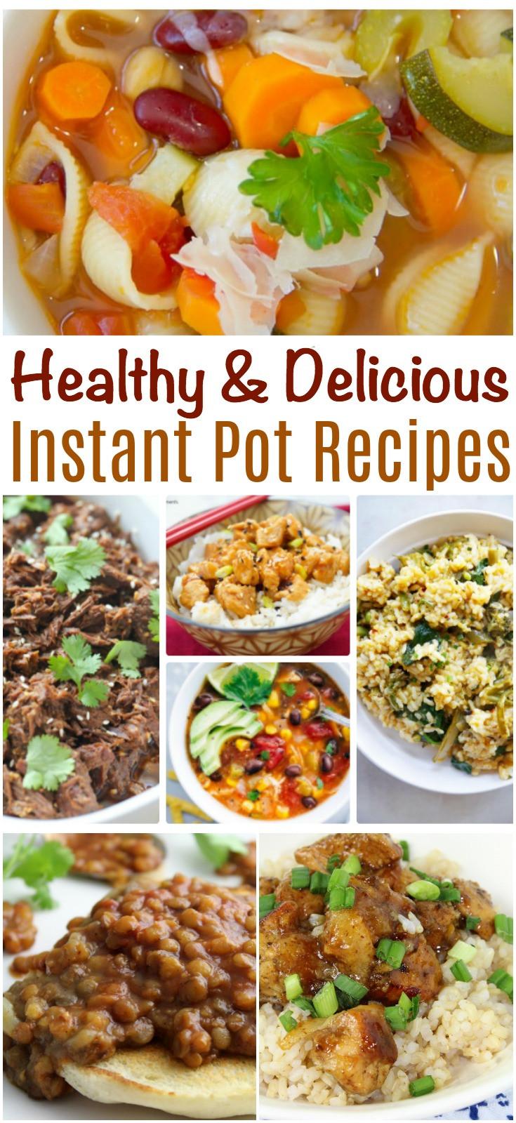 Best Healthy Instant Pot Recipes  Healthy and Delicious Instant Pot Recipes