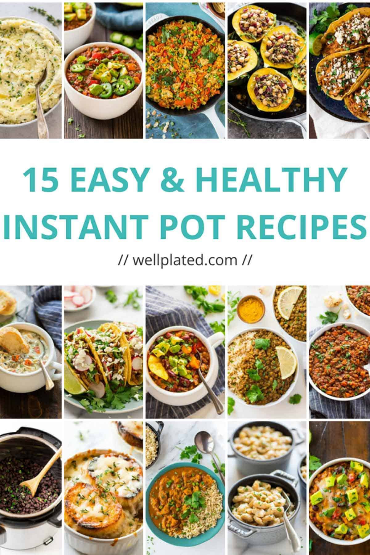 Best Healthy Instant Pot Recipes  15 Healthy Instant Pot Recipes That Anyone Can Make