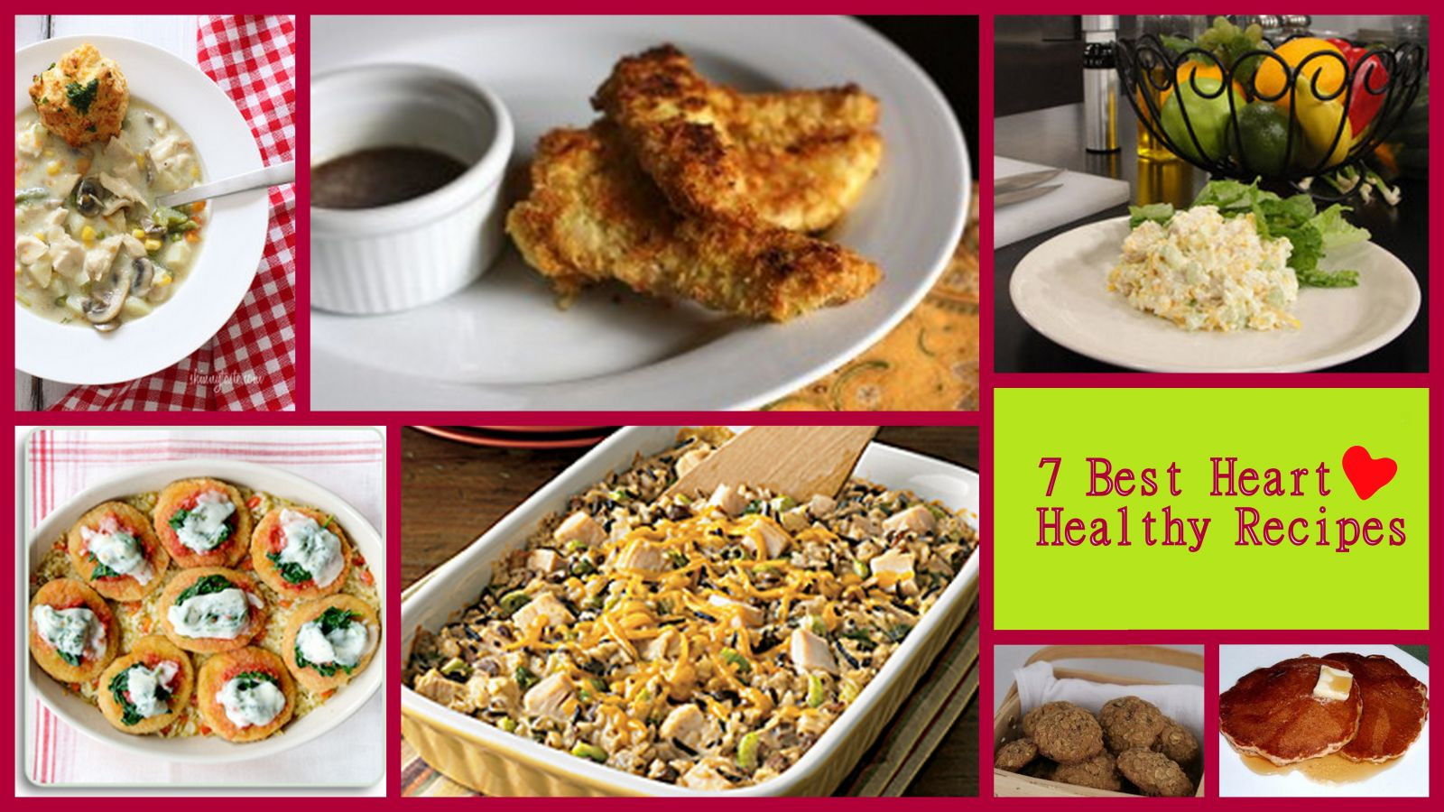 Best Heart Healthy Recipes  7 Best Heart Healthy Recipes