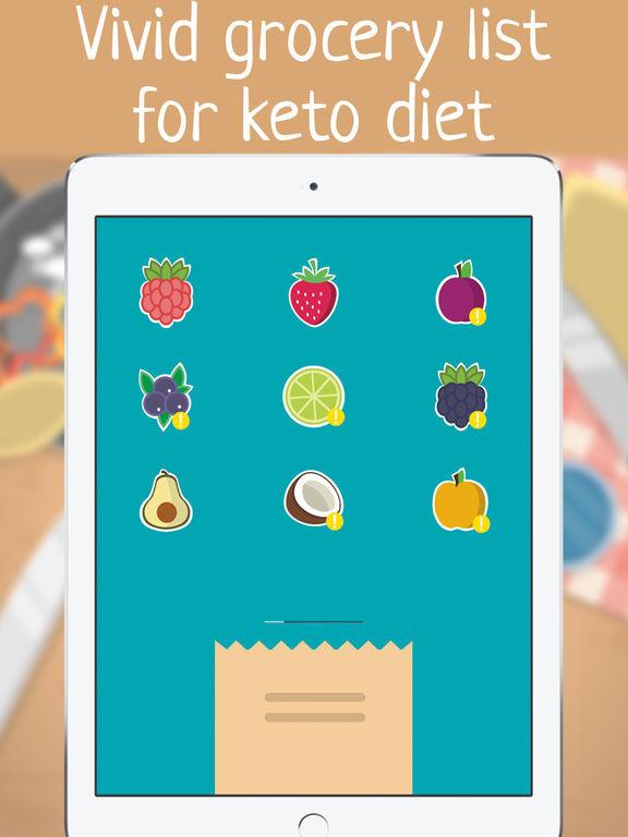 Best Keto Diet Apps  App Shopper Keto t app Low net carb food list for