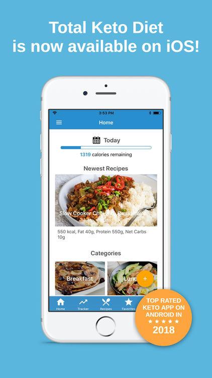 Best Keto Diet Apps  Total Keto Diet Low Carb by Tasteaholics Inc