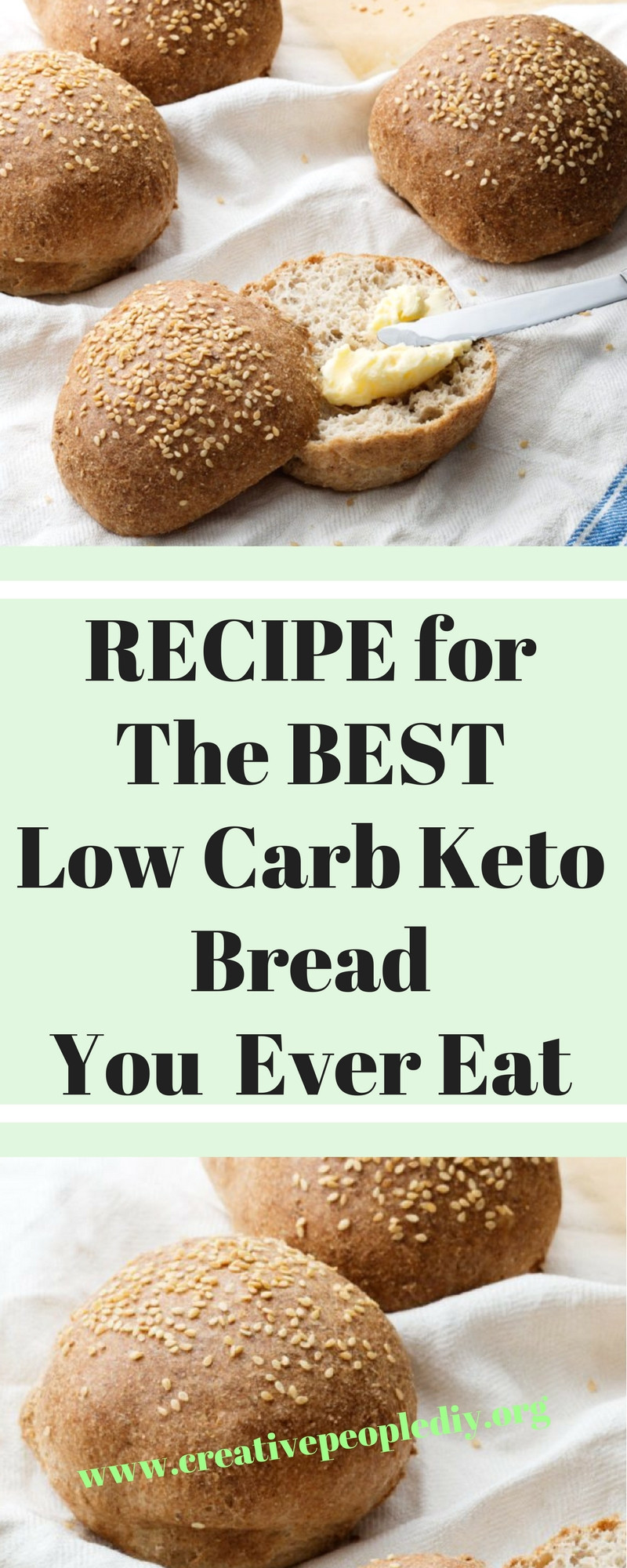 Best Low Carb Recipes Ever  RECIPE for The BEST Low Carb Keto Bread You Will Ever Eat