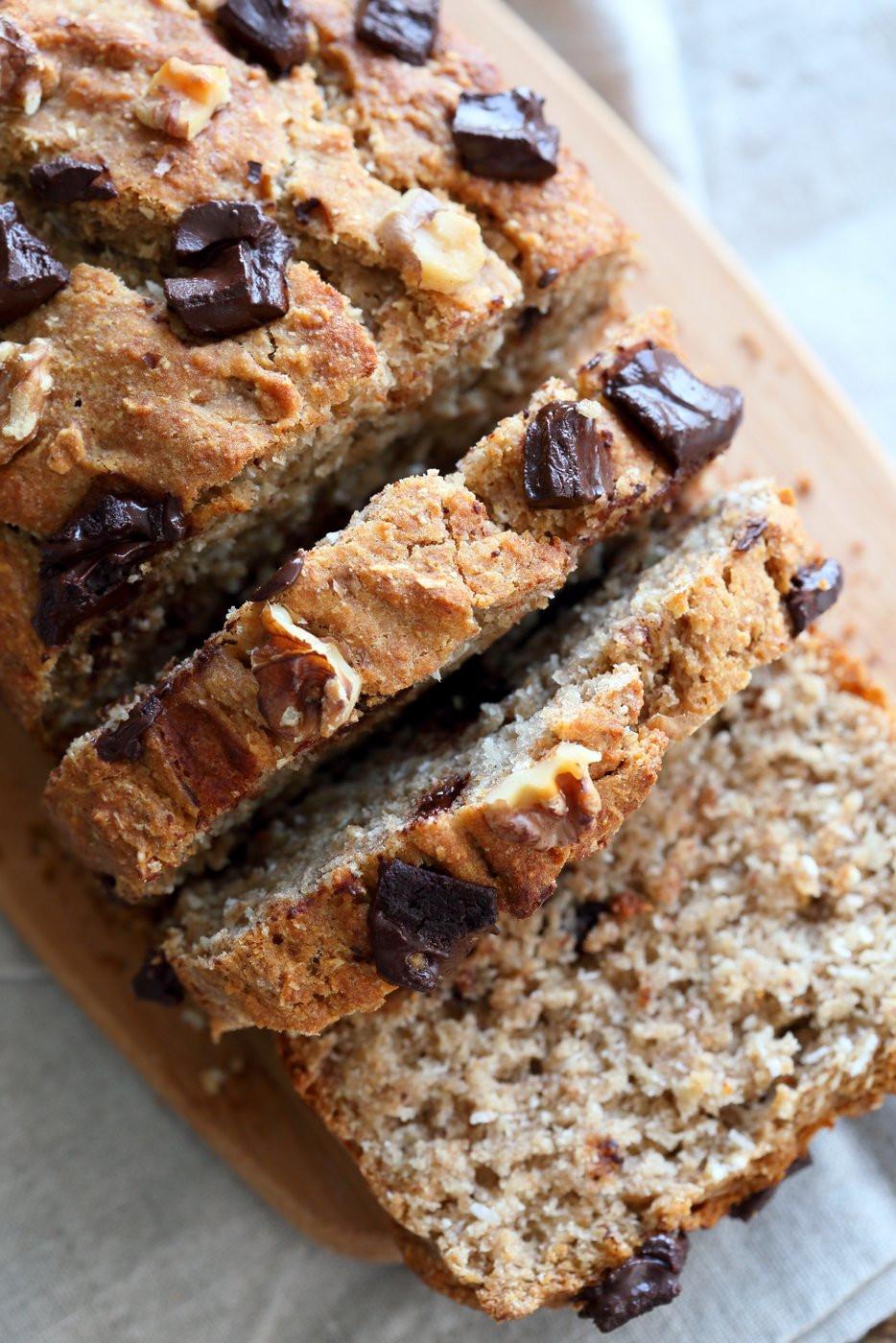 Best Vegan Banana Bread Recipe  Vegan Banana Bread with Toasted Walnuts and Coconut 1